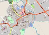 Map of Thirsk centre
